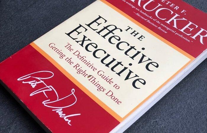 The effective executive - 7 pointer der gør dig til en mere effektiv leder